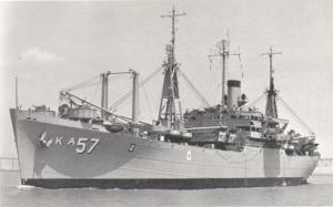 USS Capricornus, ca. 1957