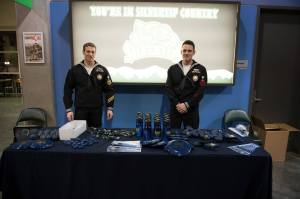 Recruiters were on hand at the Everett Silvertips game Feb. 21.