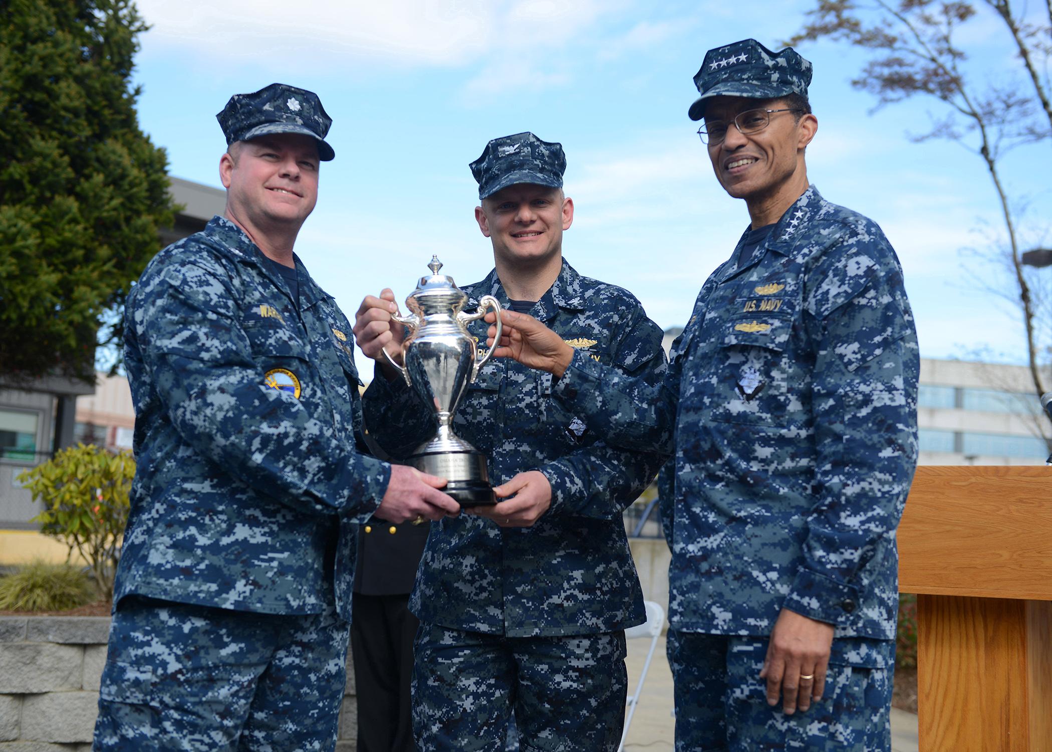 Nebraska Receives Omaha Trophy | Homeport Northwest