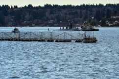 170127-N-SH284-010 BREMERTON, Wash. (Jan. 27, 2017) Los Angeles-class fast-attack submarine USS Olympia (SSN 717) arrives at Naval Base Kitsap-Bremerton, visiting the Pacific Northwest for the first time since 1998. During their stay, crew members will tour their namesake, Olympia, Washington, where they will help the community through conducting COMRELs, and take a tour the capitol and the Olympia Yacht club. (U.S. Navy photo by Mass Communication Specialist 2nd Class Vaughan Dill/Released)