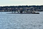 170127-N-SH284-025 BREMERTON, Wash. (Jan. 27, 2017) Los Angeles-class fast-attack submarine USS Olympia (SSN 717) arrives at Naval Base Kitsap-Bremerton, visiting the Pacific Northwest for the first time since 1998. During their stay, crew members will tour their namesake, Olympia, Washington, where they will help the community through conducting COMRELs, and take a tour the capitol and the Olympia Yacht club. (U.S. Navy photo by Mass Communication Specialist 2nd Class Vaughan Dill/Released)