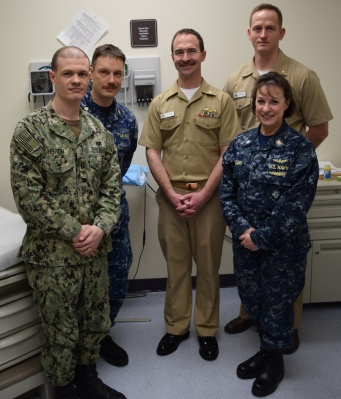 What Is The Best Military Branch >> Navy Best Practice Recognition For Branch Health Clinic Bangor
