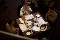 180802-M-OI329-1045 (August 2, 2018) U.S Marines and Sailors volunteer at The Garden Club Retirement Community during Seafair Fleet Week. Seafair Fleet Week is an annual celebration of the sea services wherein Sailors, Marines and Coast Guard members from visiting U.S. Navy and Coast Guard ships and ships from Canada make the city a port of call. (U.S. Marine Corps photo by Cpl. Joseph Prado)