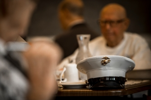 180802-M-OI329-1089 (August 2, 2018) U.S Marines and Sailors volunteer at The Garden Club Retirement Community during Seafair Fleet Week. Seafair Fleet Week is an annual celebration of the sea services wherein Sailors, Marines and Coast Guard members from visiting U.S. Navy and Coast Guard ships and ships from Canada make the city a port of call. (U.S. Marine Corps photo by Cpl. Joseph Prado)