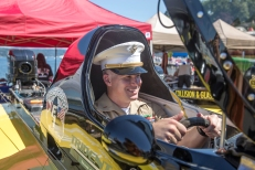 180804-M-ST406-1015 SEATTLE (August 4, 2018) U.S. Marine Corps Chief Warrant Officer 2, the executive officer of Task Force Seattle, sits in a hydroplane at the Seafair Weekend Festival during the Seattle Fleet Week. Seafair Fleet Week is an annual celebration of the sea services wherein Sailors, Marines and Coast Guard members from visiting U.S. Navy and Coast Guard ships and ships from Canada make the city a port of call. ( U.S. Marine Corps photo by Lance Cpl. Ana S. Madrigal)
