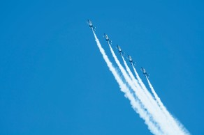 180804-N-KH214-0832 SEATTLE (August 4, 2018) The U.S. Navy Blue Angels perform during Seafair Weekend at Genesee Park as part of the 69th annual Seafair Fleet Week. Seafair Fleet Week is an annual celebration of the sea services wherein Sailors, Marines and Coast Guard members from visiting U.S. Navy and Coast Guard ships and ships from Canada make the city a port of call. (U.S. Navy photo by Mass Communication Specialist 2nd Class Scott Wood/Released)