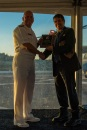 180804-N-SH284-2018 SEATTLE (August 4, 2018) Vice Adm. John D. Alexander, commander, U.S. 3rd Fleet, presents a plaque to Jeff Davis, president, Seattle Navy League, at the 3rd Fleet Reception aboard amphibious transport dock ship USS Somerset (LPD 25) during the 69th annual Seafair Fleet Week. Seafair Fleet Week is an annual celebration of the sea services wherein Sailors, Marines and Coast Guard members from visiting U.S. Navy and Coast Guard ships and ships from Canada make the city a port of call. (U.S. Navy photo by Mass Communication Specialist 2nd Class Vaughan Dill/Released)