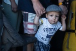 180805-M-ST406-1013 SEATTLE ( August 5, 2018) A child participates in a tour aboard amphibious transport dock ship USS Somerset (LPD 25) during Seattle Fleet Week. Seafair Fleet Week is an annual celebration of the sea services wherein Sailors, Marines and Coast Guard members from visiting U.S. Navy and Coast Guard ships and ships from Canada make the city a port of call. ( U.S. Marine Corps photo by Lance Cpl. Ana S. Madrigal)