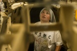 180805-M-ST406-1075 SEATTLE ( August 5, 2018) A child participates in a tour aboard amphibious transport dock ship USS Somerset (LPD 25) during Seattle Fleet Week. Seafair Fleet Week is an annual celebration of the sea services wherein Sailors, Marines and Coast Guard members from visiting U.S. Navy and Coast Guard ships and ships from Canada make the city a port of call. ( U.S. Marine Corps photo by Lance Cpl. Ana S. Madrigal)