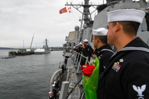 USS Shoup Homecoming